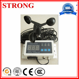 Fixed Wind Speed Anemometer/Sensor for Tower Crane Operator Safety