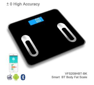Glass Texture Design Electronic Body Fat Digital Bathroom Weighing Scale