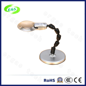 Optical Glass Magnifying Table Desktop LED Inspection Lamp