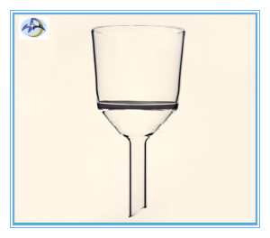 35ml Fritted Disc Funnel for Laboratory Glassware