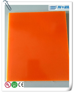 Colored G10 Laminate for Surfing Board Fins