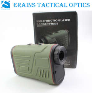 Erains Tac Optics Handheld W600A Hunting 6X22 600m Long Distance Laser Golf Rangefinder Range Speed