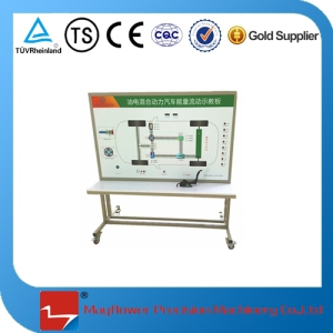 Automobile Training Equipment Petrol-Electric Hybrid Vehicle Energy Teaching Board