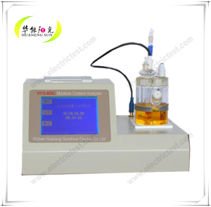 Automatic Easy Operation Trace Moisture Analyzer for Water Content in Liquid, Solid and Gas