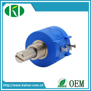 Electronic Components, Ceramic Wirewound Potentiometer Wxd3590, Made in Jiangsu