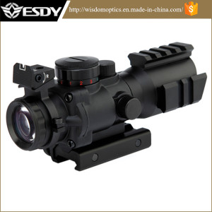 Tactical Optical Fiber Red/Green/Blue DOT Sight Scope